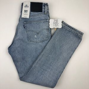 NWT LEvi's Made & Crafted 501 Straight Leg Jean